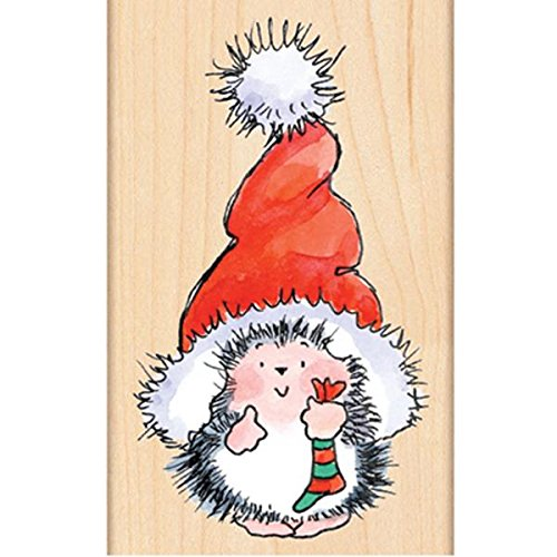 Penny Black 4283K Santa's Hat Wood Mounted Rubber (Black Santa Hat)