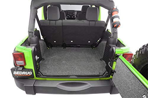 BedRug Jeep Combo Kit - BedRug CBRJK114 fits 2011+JK Unlimited 4 Dr (Includes Front and Cargo Kit)
