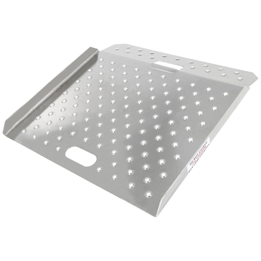 Guardian Industrial Products CR-01-20-20-P-TS6 Aluminum Curb Ramp 20'' x 20''
