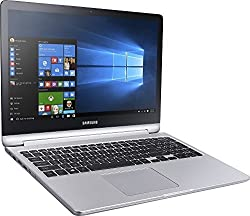 "Samsung Notebook 7 Spin 15.6"" 2-in-1 1TB SSD 32GB RAM EXTREME (FAST Intel Processor 7th Gen Core i7 TURBO BOOST to 3.50GHz,32 GB RAM,1 TB SSD, 15.6"" TOUCHSCREEN, Win 10) PC Laptop Computer NP740U5M"