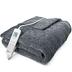 Vremi Electric Blanket - 55 x 63 inches ...