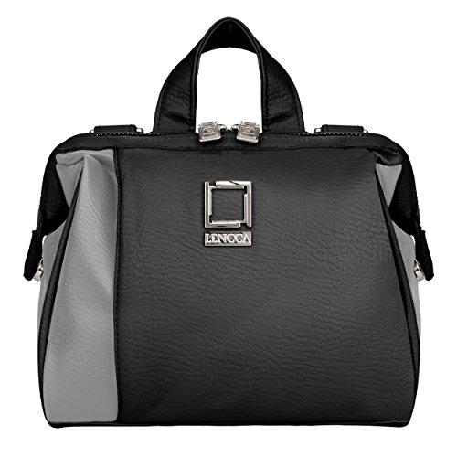 (Lencca Olive Charcoal Black Camera Bag for Nikon CoolPix Series Compact Digital)