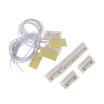 BIlinli 5 Sets MC-38 Detector magnético del Sistema de ...