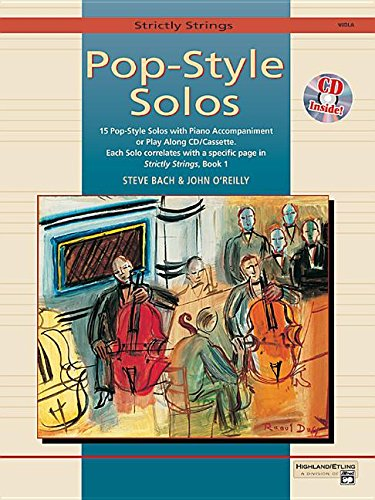 (Strictly Strings Pop-Style Solos: Viola, Book & CD)