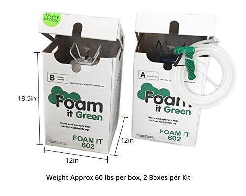 FOAM IT 602 SLOW RISE DIY Polyurethane Spray Foam Kit