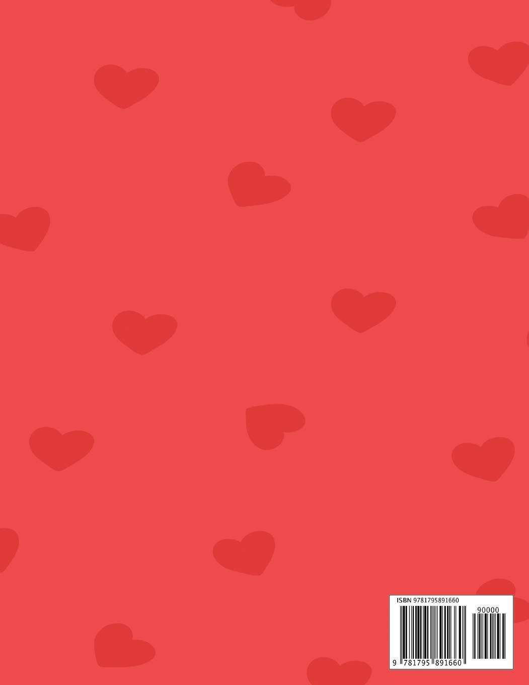 I Love You Valentine S Day Coloring Book For Kids Heart Cut Outs