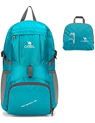 Camel 35L Packable Travel Backpack Ultralight Foldable Daypack Turquoise Color