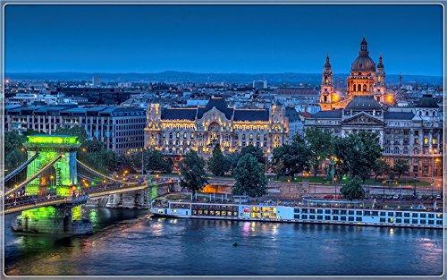 budapest-evening Postcard Post card