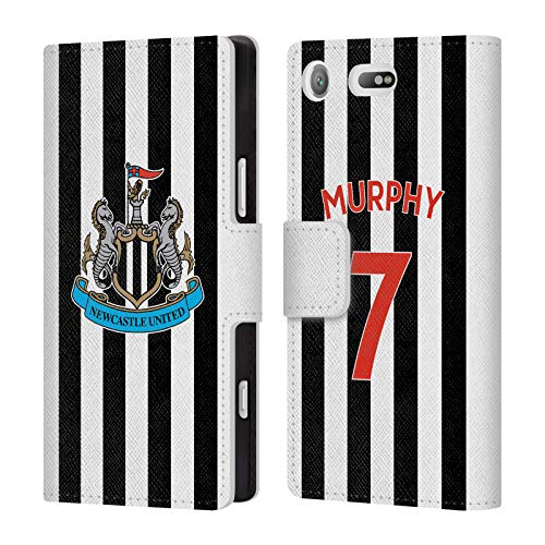 Compact Wallet Murphy (Official Newcastle United FC NUFC Jacob Murphy 2018/19 Players Home Kit Group 1 Leather Book Wallet Case Cover for Sony Xperia XZ1 Compact)