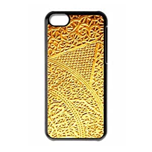 MMZ DIY PHONE CASEGold Pattern ZLB566190 Custom Phone Case for iphone 5/5s, iphone 5/5s Case