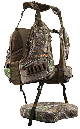 Knight & Hale KHT0067 Run N' Gun 300-Realtree Turkey Vest Frame, Realtree Edge Frame