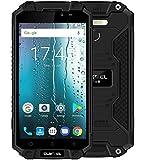 OUKITEL K10000 MAX - 5.5 pouces FHD IP68 Imperméable / antichoc / antipoussière smartphone avec batterie 10000mAh, Android 7.0 Octa Core 1.5GHz, 3 Go RAM + ROM 32 Go, Superpower LED Flash, caméra 8MP + 16MP - Noir