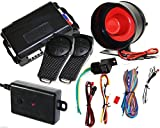 1-Way Premium Car Auto Vehicle Alarm Protection Keyless Security System 2 Remote
