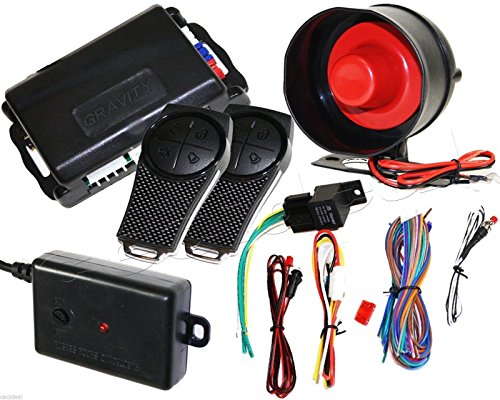 1-Way Premium Car Auto Vehicle Alarm Protection Keyless Security System 2 Remote by Unknown (Image #2)