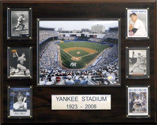 - MLB Yankee Stadium Stadium Plaque (Trading Cards of Top Team Stars)