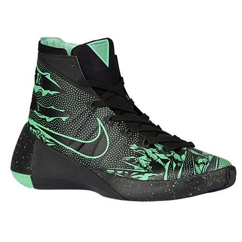 Nike Men's Hyperdunk 2015 PRM, Black/Anthracite/Green Glow, 10 D-Medium by Nike