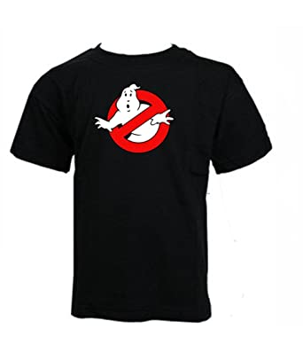 Ghostbusters Dan Akroyd /& Bill Murray Classic Movie T-shirt 5-6, white KIDS