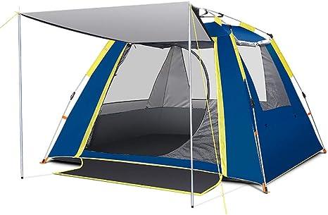 Socly Tienda De CampañA Familiar Ventilada Y Duradera Camping Playa A Prueba Viento Y Resistente Al Agua PortáTil 2-3 Personas,D: Amazon.es: Deportes y aire libre