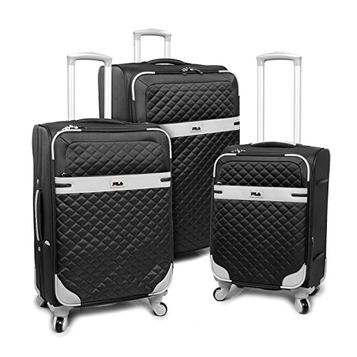 Tone Expandable Travel Set - Luggage Gabriella 3 Piece Set Expandable Suitcase with Spinner Wheels