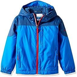 Columbia Big Boys\' Ethan Pond Jacket, Super Blue, Small