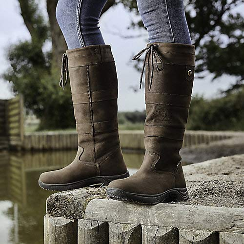 Dublin River Boots III Chocolate Ladies 7 XWide ()
