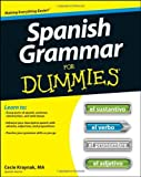 img - for Spanish Grammar For Dummies by Cecie Kraynak (2012-05-08) book / textbook / text book