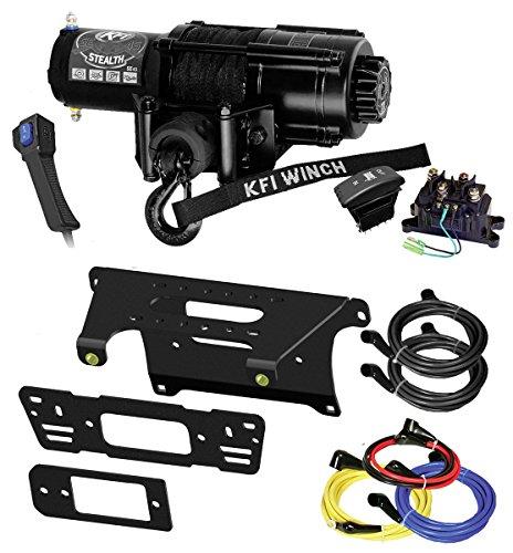 - KFI Combo Kit - SE45-R2 4500lbs Winch & Mount Bracket - 2014-2018 Polaris 900 Ranger Crew 4x4