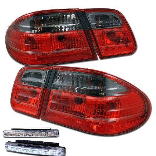 1996-2002 MERCEDES BENZ E300/320/430/55 AMG 4 DOOR REAR BRAKE TAIL LIGHTS + LED