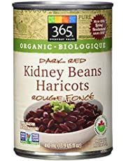 365 Everyday Value Organic Dark Red Kidney Beans, 15.25 oz