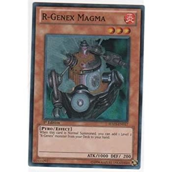 Yu-Gi-Oh! - R-Genex Magma (HA03-EN017) - Hidden Arsenal 3 - 1st Edition - Super Rare