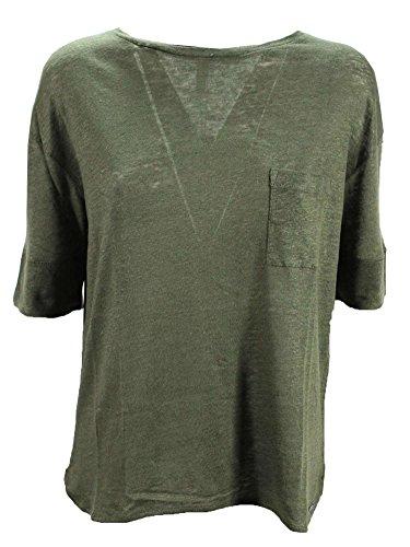 Militare Donna Woolrich shirt T Wwtee1120 Verde S p6qfHgw