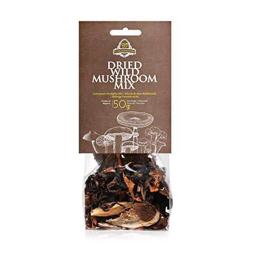 Wild Mushroom Mix   1.7 Oz./50 g. Plastic Transparent Bag   InterGourmandise   European Finest Mushroom Quality   Strong (Chanterelle Mushroom Pasta)