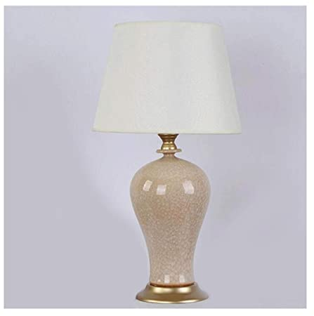 lampara mesa Lámpara de escritorio de cerámica Lámpara de cabecera ...