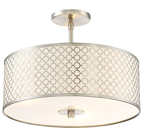 George Kovacs P1267-084 Three Light Semi Flush Mount