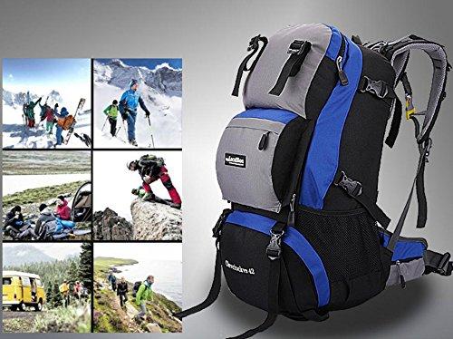 Old bleu  Professional prend en charge, sac à dos sac à dos de plein air Kit 42L l voyage d'escalade