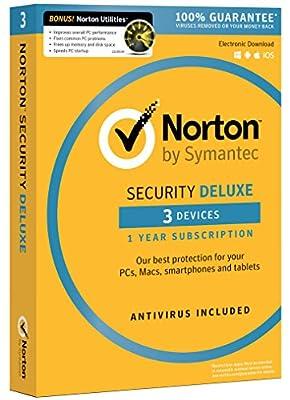 Norton Security Deluxe + Norton Utilities Bundle - 3 Devices [Download Code]