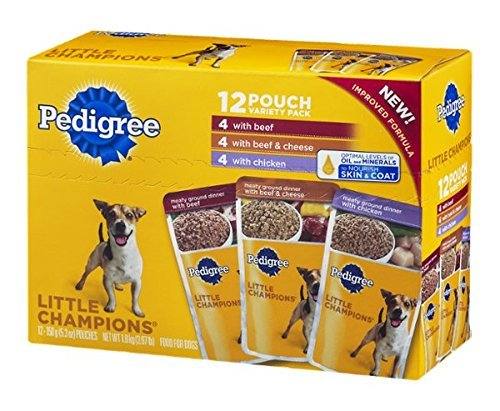 Pedigree Little Champions Food For Dogs Variety Pack - 12 Ct