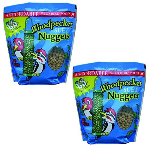C & S CS06109 Woodpecker Nuggets, 27-Ounce (Pack of 2)
