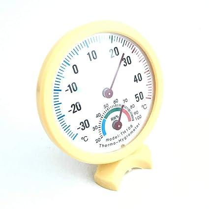 Jinzuke Thermomètre intérieur Multifonctionnel hygromètre ...