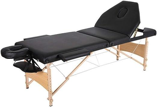 PN-Braes Mesa de masajes Cama de Masaje portátil 3 Sección de ...