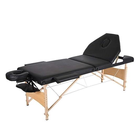 Mesa de Masaje Portátil Cama de masaje portátil 3 Sección de ...