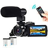 Video Camera Camcorder,ACTITOP 1080P FHD Camcorder 24.0MP 16X Digital Zoom Vlogging Camera