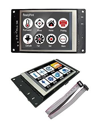 Impresora 3D MKS TFT pantalla táctil Splash LCD Controlador ...
