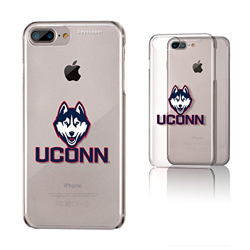 (Keyscaper University of Connecticut Clear Case for the iPhone 6+/6S+/7+/8+ NCAA)