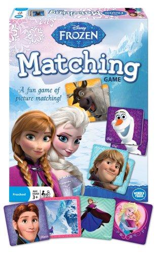 Disney Frozen Matching Game