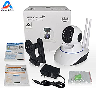 Auto Safety HD 720p WiFi Security Network Surveillance Camera system Remote Motion Detect Infrared Night Vision,Motion DetectionBaby MonitorPC/iPhone/ Android View