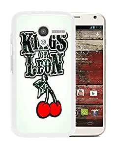 kings of leon t shirt White Hard Plastic Motorola Moto X Phone Cover Case