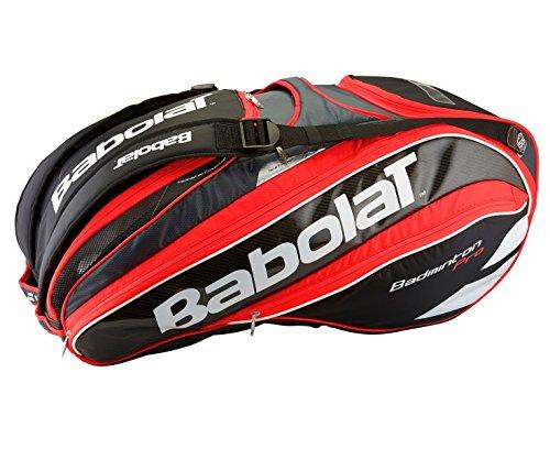 Babolat Racket Holder X16 Badminton Pro Line Red/Fluo Badmintontasche