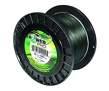 PowerPro Spectra Moss Green Braided Line