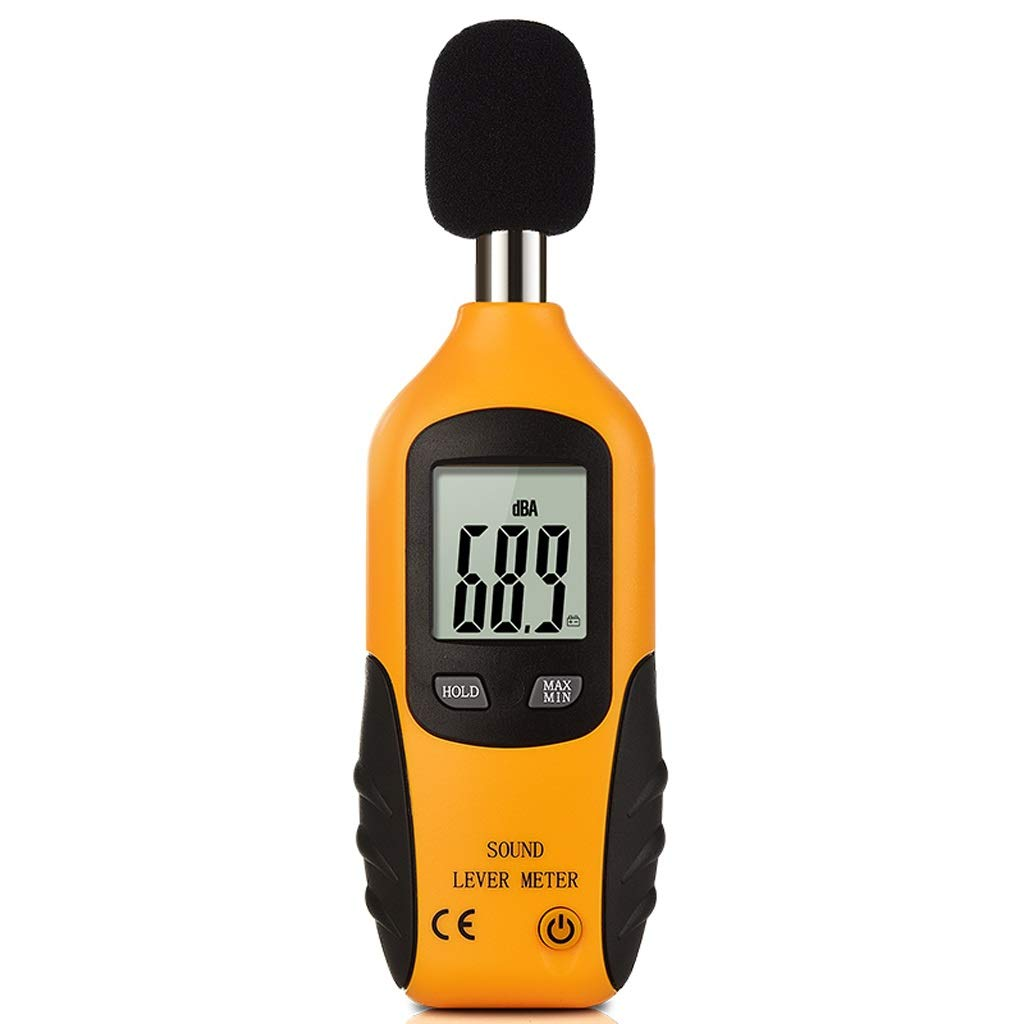 BingWS Decibel Meter Handheld High Sensitivity 0.5 Second Fast Response Decibel Tester Noise Detector Noise Tester Home Decibel Meter Sound Measurement